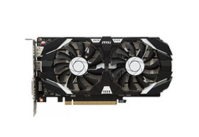 Видеокарта MSI GeForce GTX1050 Ti 4096Mb DUAL для GPU-рига